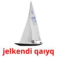 jelkendі qaıyq picture flashcards