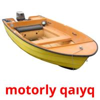 motorly qaıyq picture flashcards