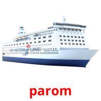 parom picture flashcards