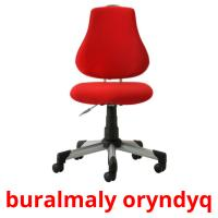buralmaly oryndyq picture flashcards