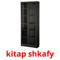 kіtap shkafy picture flashcards