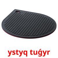 ystyq tuǵyr picture flashcards