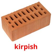 kіrpіsh picture flashcards