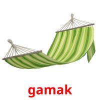 gamak picture flashcards