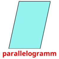 parallelogramm picture flashcards