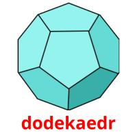 dodekaedr picture flashcards