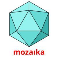 mozaıka picture flashcards