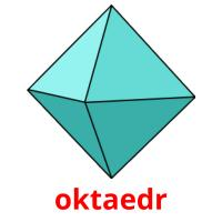oktaedr picture flashcards