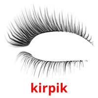 kіrpіk picture flashcards