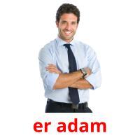 er adam picture flashcards