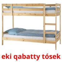ekі qabatty tósek picture flashcards