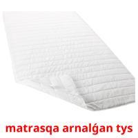 matrasqa arnalǵan tys picture flashcards