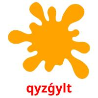 qyzǵylt picture flashcards