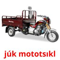 júk mototsıkl picture flashcards