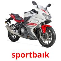 sportbaık picture flashcards