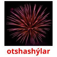 otshashýlar picture flashcards