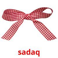 sadaq picture flashcards