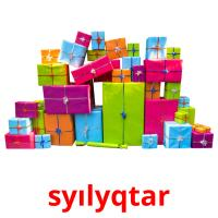 syılyqtar picture flashcards