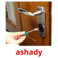 ashady picture flashcards