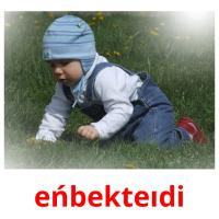 eńbekteıdі picture flashcards