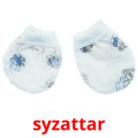 syzattar picture flashcards