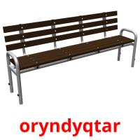 oryndyqtar picture flashcards