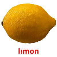 lımon picture flashcards