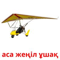 аса жеңіл ұшақ picture flashcards
