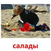 салады picture flashcards