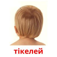 тікелей picture flashcards