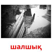 шалшық picture flashcards