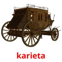karieta picture flashcards
