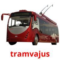 tramvajus picture flashcards