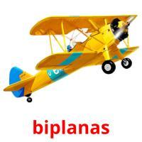biplanas picture flashcards