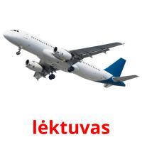 lėktuvas picture flashcards