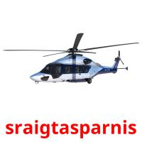 sraigtasparnis picture flashcards