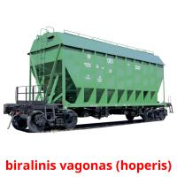 biralinis vagonas (hoperis) picture flashcards