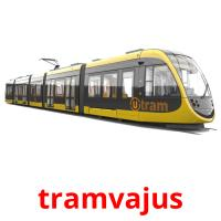 tramvajus picture flashcards