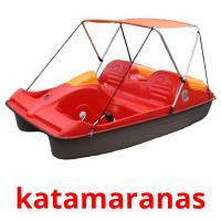 katamaranas picture flashcards