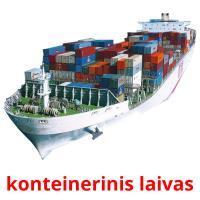 konteinerinis laivas picture flashcards
