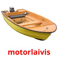 motorlaivis picture flashcards