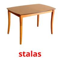 stalas picture flashcards