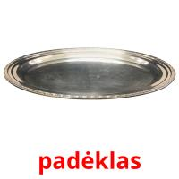padėklas picture flashcards