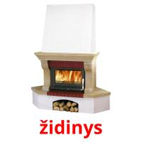 židinys picture flashcards