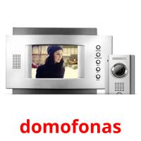 domofonas picture flashcards