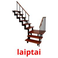 laiptai picture flashcards