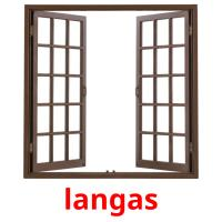 langas picture flashcards