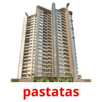 pastatas picture flashcards