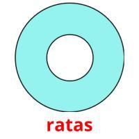 ratas picture flashcards