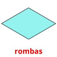 rombas picture flashcards